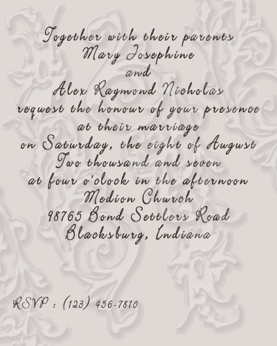 Wedding Reception Invitation Wording Funny: Funny Quotes For Wedding Invitations. QuotesGram