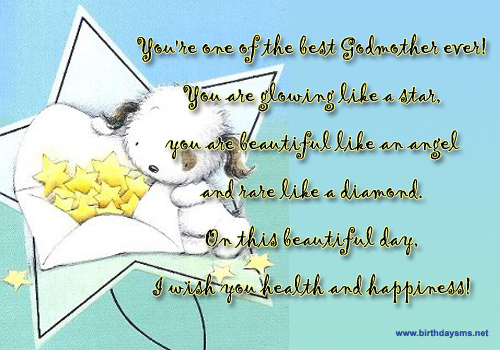 45 Best Birthday Wishes For Godmother: Happy Birthday Godmother Quotes. QuotesGram
