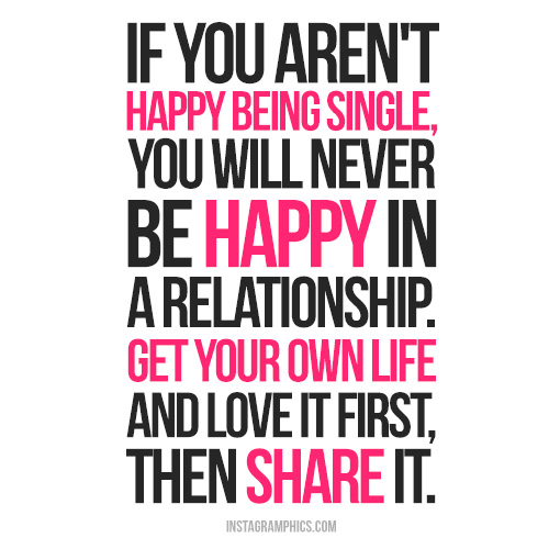 Sad Quotes About Being Single Quotesgram: Quotes On Being Single And Happy. QuotesGram