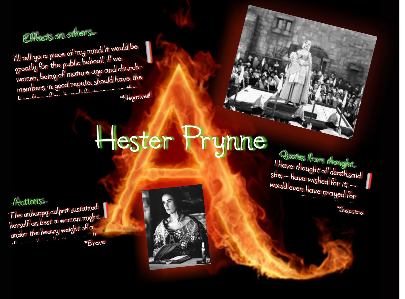 a comparison between reynold and herzog in hester prynne