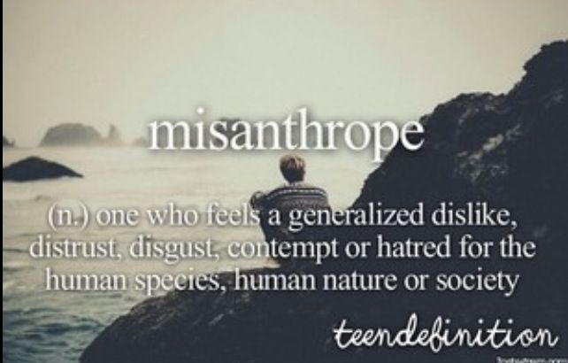 Misanthrop Zitate