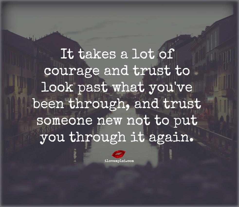 trusting others trusting yourself A person who is trustworthy is able to demonstrate consideration and care of  others this also means that they trust you to know what's best for yourself.
