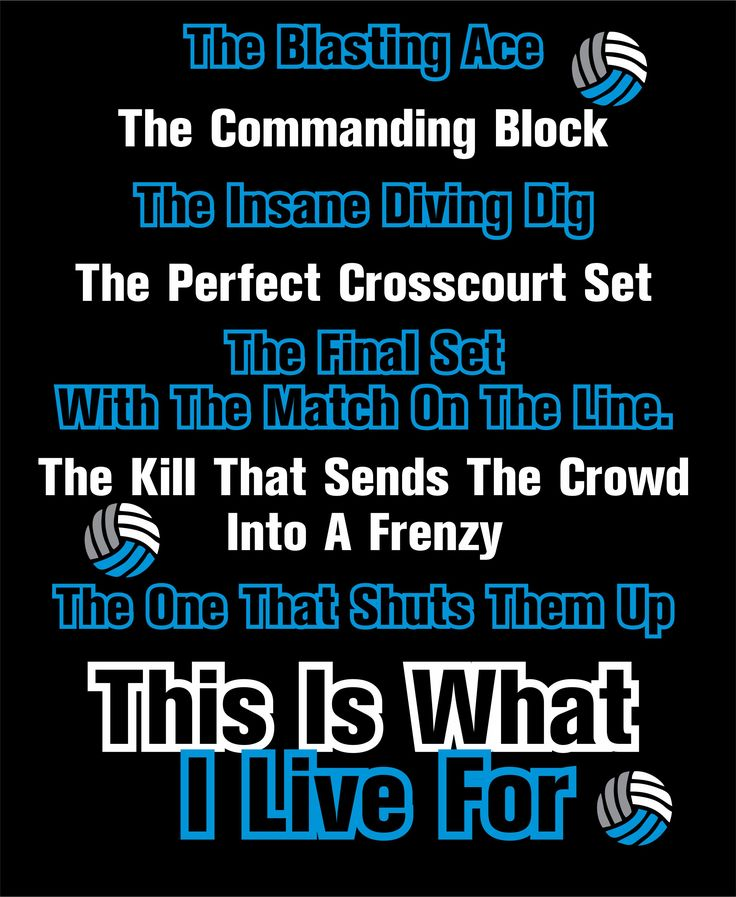 Volleyball Quotes And Poems. QuotesGram
