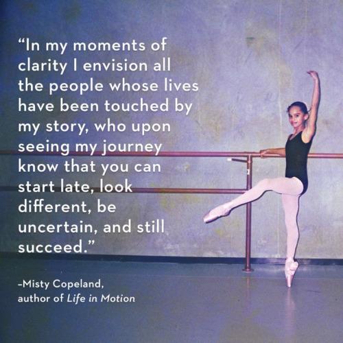 Misty Copeland Book Quotes Quotesgram