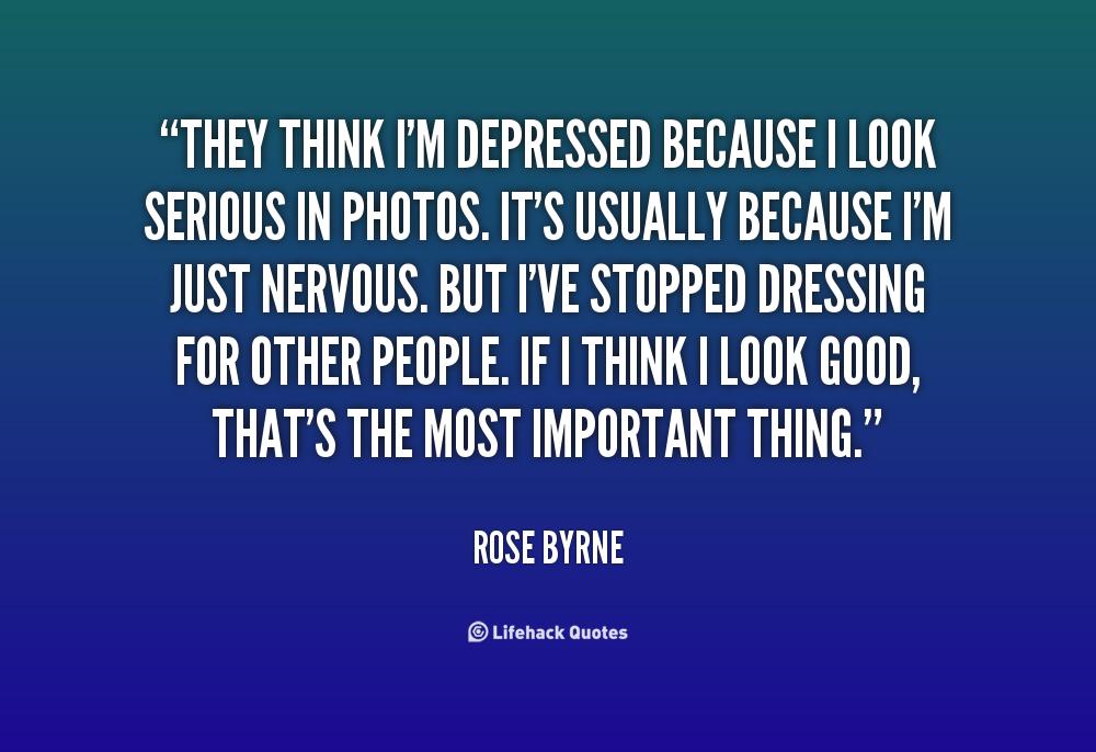 Im Depressed Quotes. QuotesGram