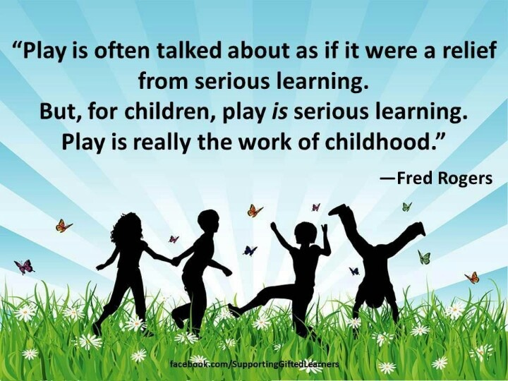 the importance of play and the In psychology and ethology, play is a range of voluntary, intrinsically motivated activities normally associated with recreational pleasure and enjoyment play is commonly associated with children and juvenile-level activities, but play occurs at any life stage, and among other higher.