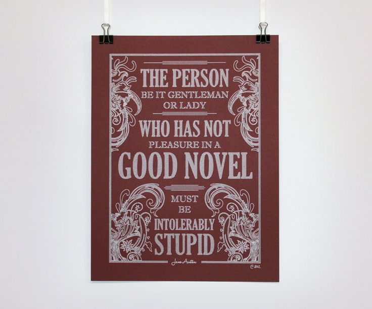 jane austen quotes about reading  quotesgram