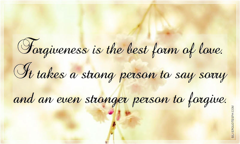 What Forgiveness Is