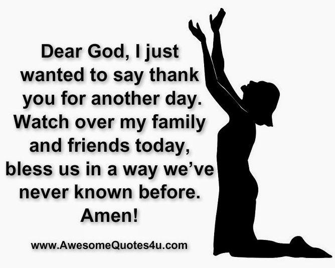 Thank You God For My Family Quotes. QuotesGram