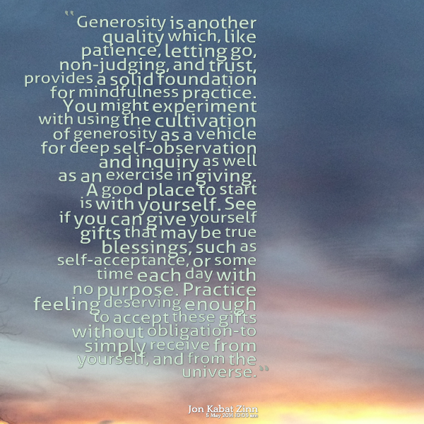Thank You For Your Generous Gift Quotes: Generosity Quotes. QuotesGram