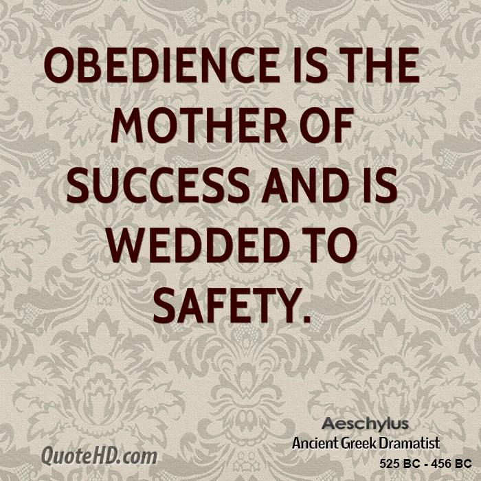 The Role of Obedience in Society