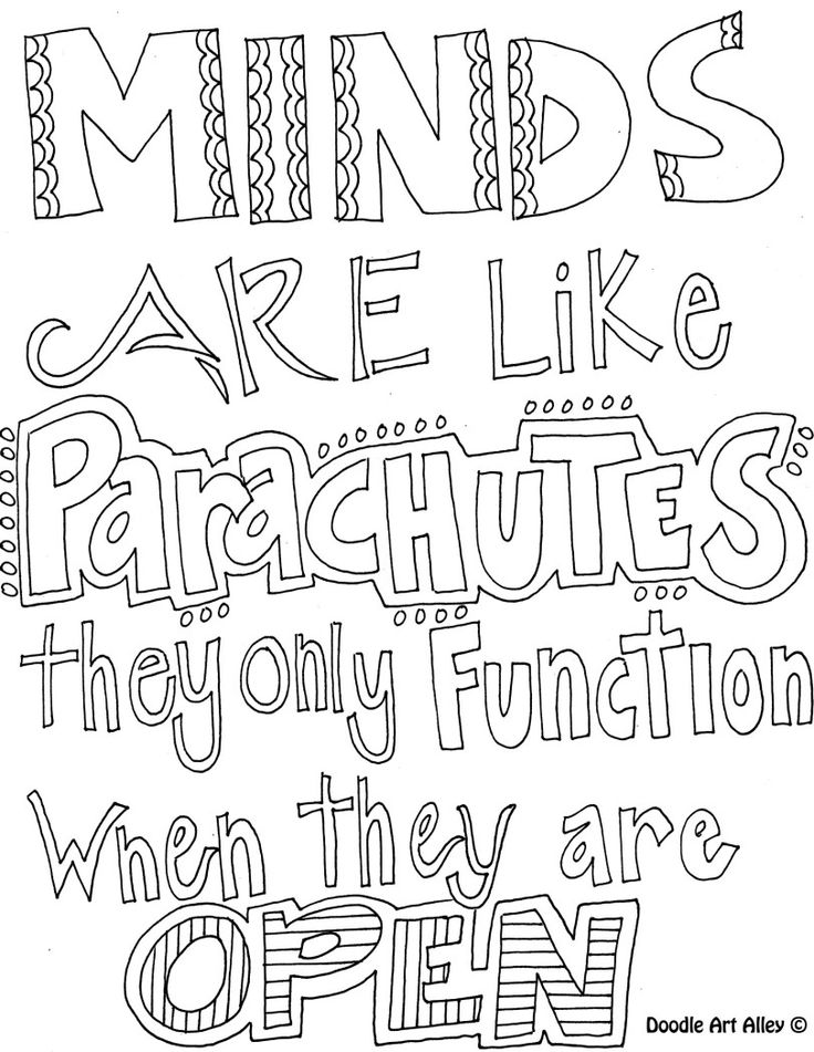 Invaluable image pertaining to printable quote coloring pages