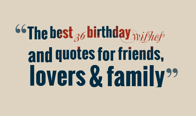 36 Motivational And Inspirational Quotes: 36 Birthday Quotes. QuotesGram