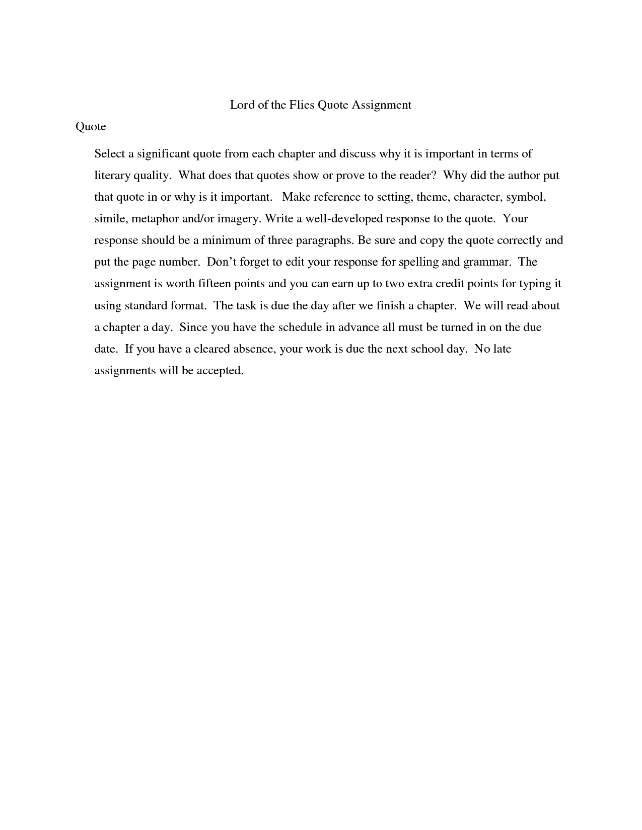 Lord Of The Flies Quotes With Page Numbers. QuotesGram