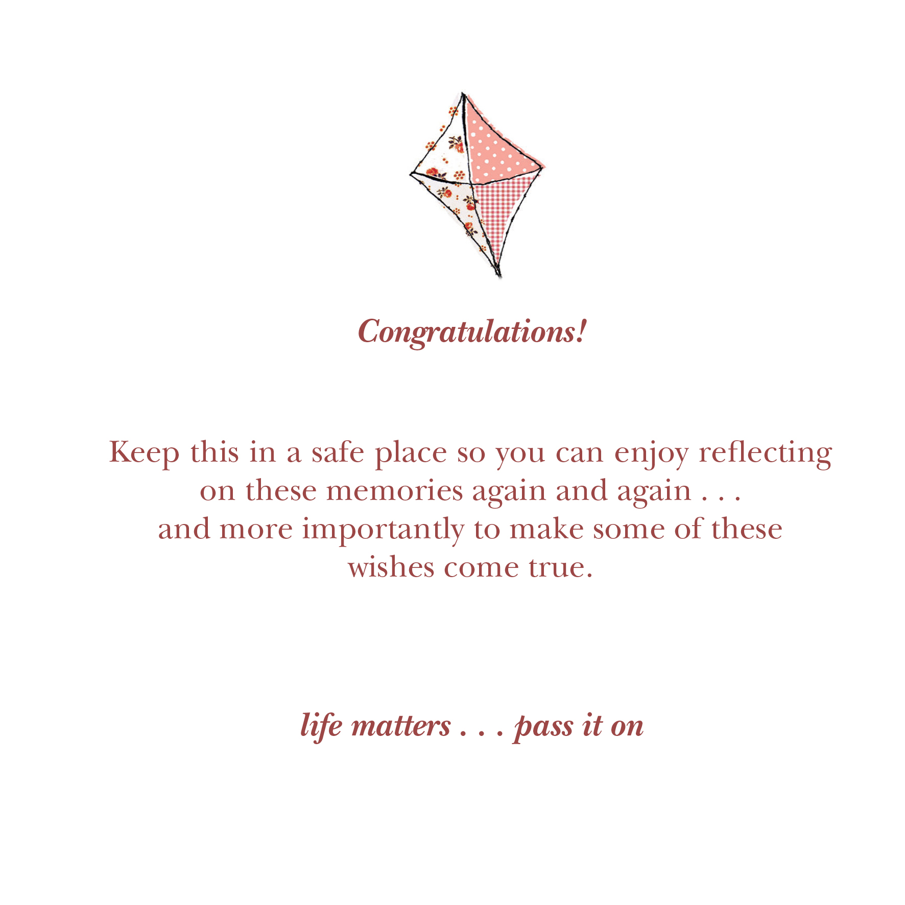 Its A Good Day To Die Quote: Congratulations Its A Girl Quotes. QuotesGram