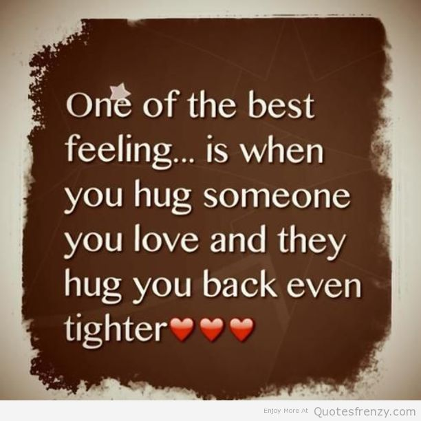 Cute Love Distance Quotes: Cute Quotes About Hugs. QuotesGram