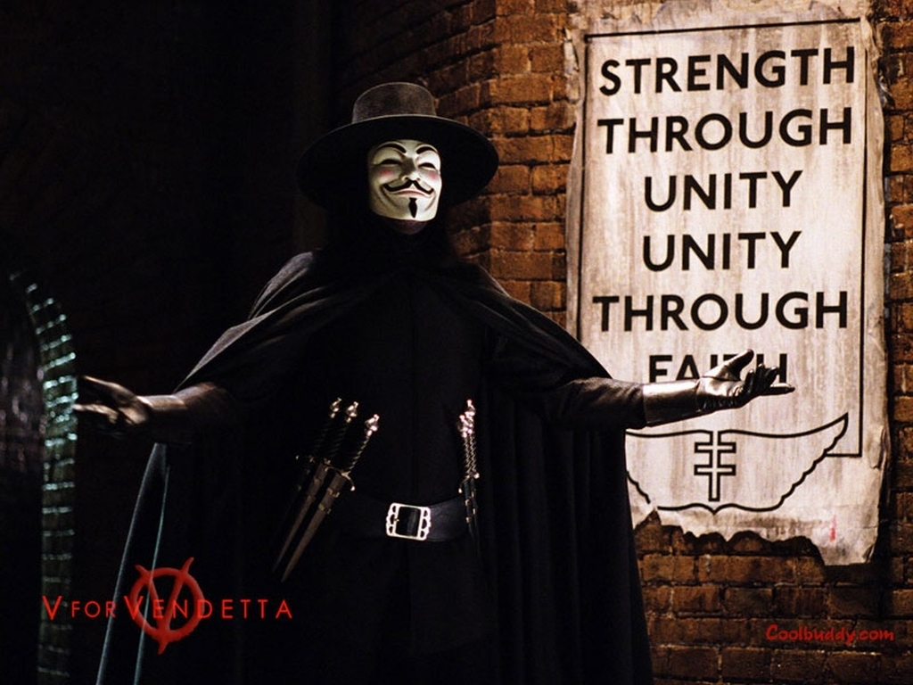 V For Vendetta Wallpaper Quotes Quotesgram