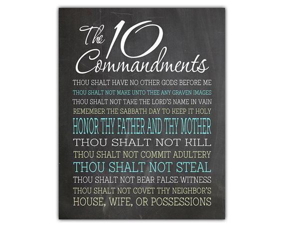 Ten Commandments Quotes: Ten Commandments Christian Quotes. QuotesGram