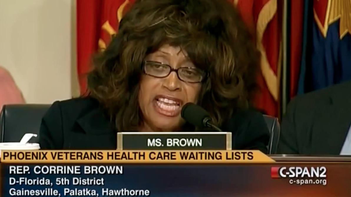Corrine Brown Wig