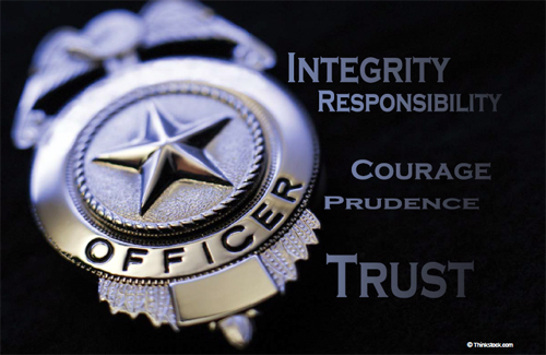 police integrity This compilation of resources focuses on web sites dealing with police corruption  or police integrity issues related topics include law enforcement and police.