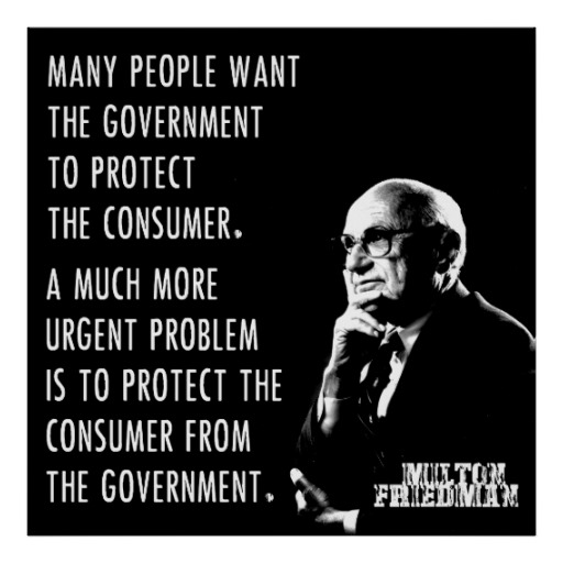 an essay on milton friedman and free market capitalism By milton friedman  the businessmen believe that they are defending free  enterprise when they declaim  not market mechanisms, are the appropriate  way to determine the allocation of  in the present climate of opinion, with its  wide spread aversion to capitalism, profits, the soulless corporation.
