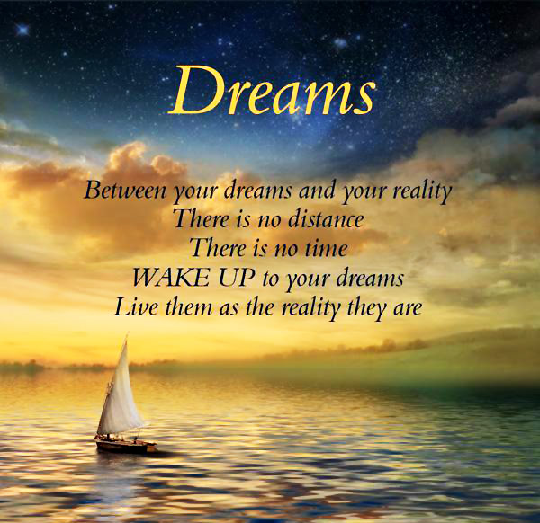 Dream Quotes: Quotes About Dreams And Reality. QuotesGram