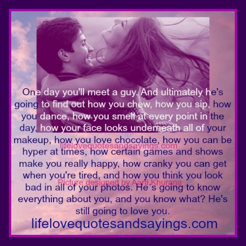 Love Quotes You Will Find: Perfect Love Quotes. QuotesGram