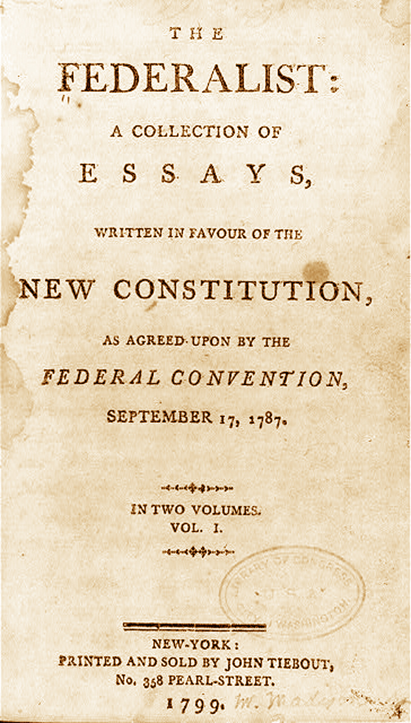 federalist papers on religion Find out more about the history of federalist papers, including videos, interesting articles, pictures, historical features and more get all the facts on historycom.