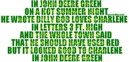 John Deere Girl Quotes. QuotesGram