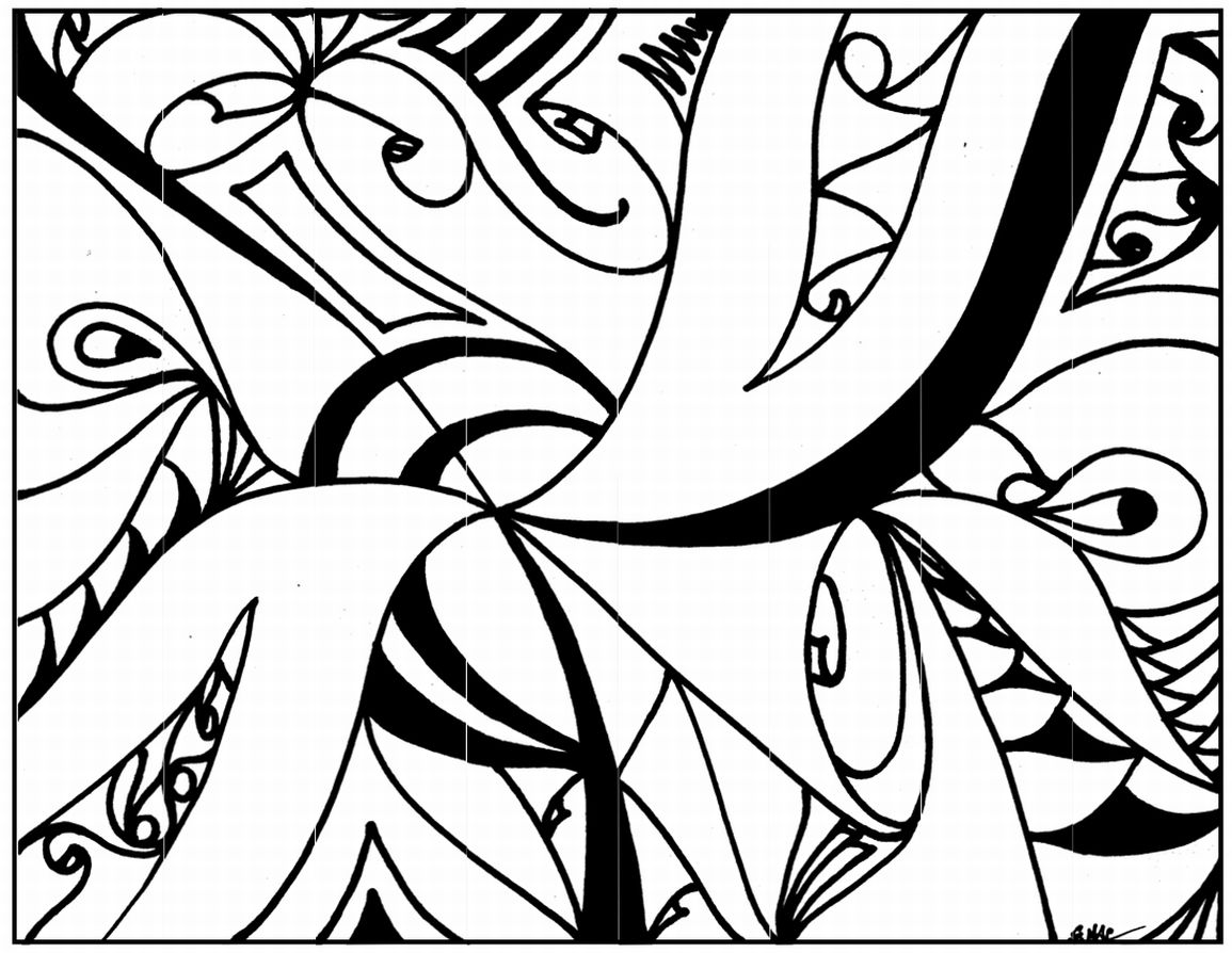 modern art coloring pages | Printable Coloring Quotes. QuotesGram