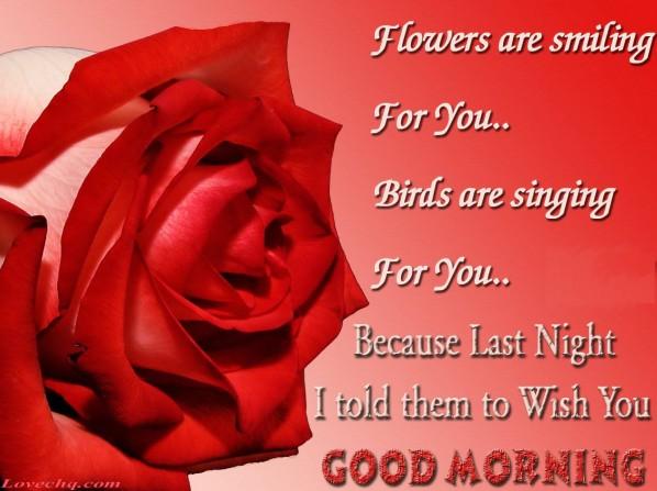 Romantic Good Morning Text Quotes: Romantic Good Morning Text Quotes. QuotesGram