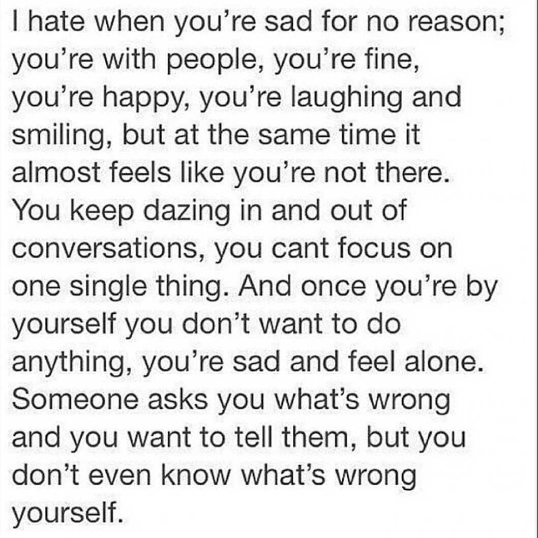 Saying Quotes About Sadness: Relatable Depression Good Quotes. QuotesGram