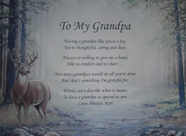 quotes about losing a grandfather quotesgram