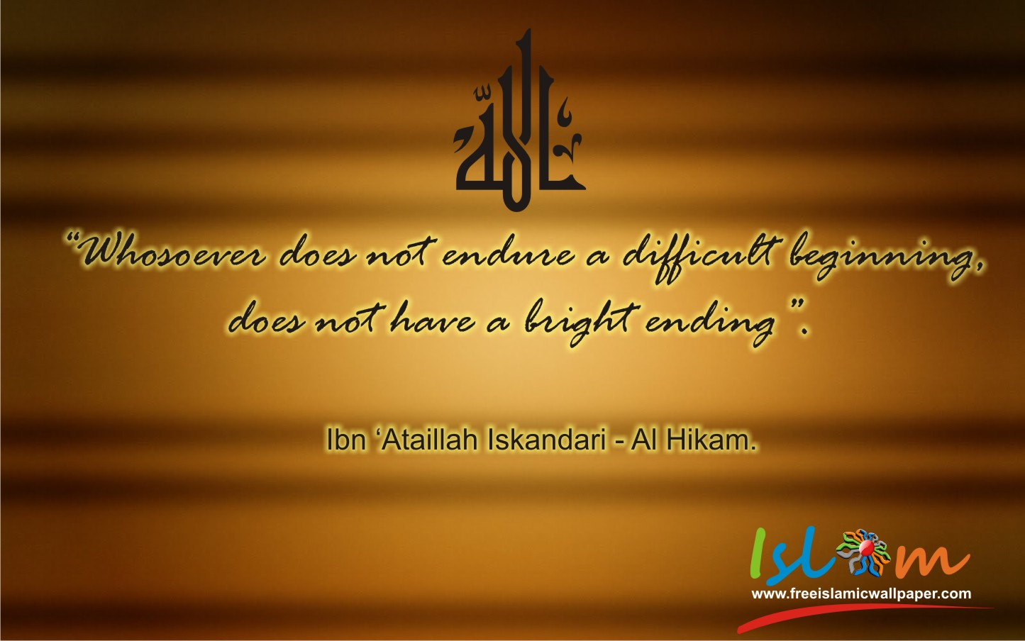 Islamic Wallpapers Quotes  Quotesgram
