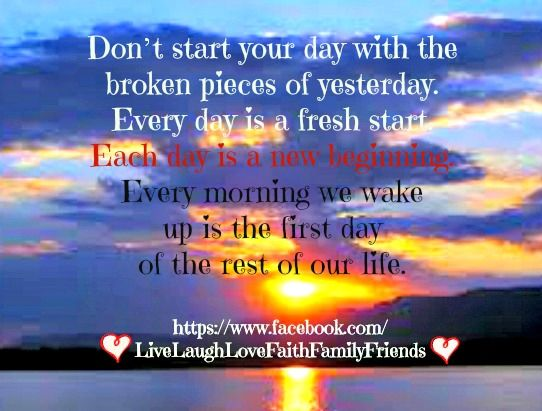 Everyday Is A Brand New Day Quotes: Brand New Day Quotes And Sayings. QuotesGram