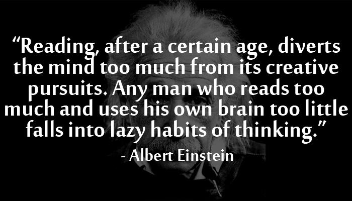 Albert Einstein Reading Quote: Einstein Quotes Reading. QuotesGram