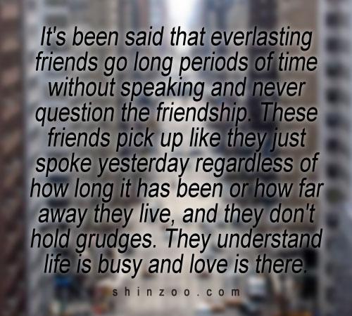 Friend Quotes Long Time : Part time friendship quotes quotesgram