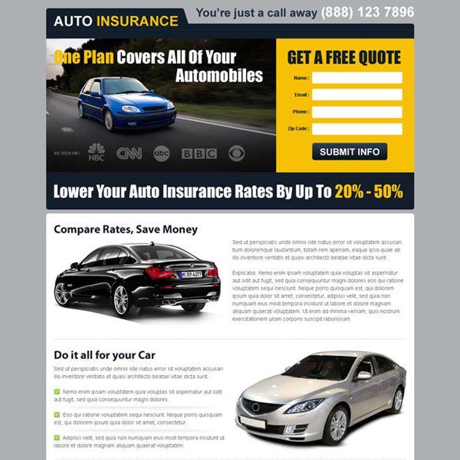 Get A Quote For My Car: Car Insurance Quotes Examples. QuotesGram