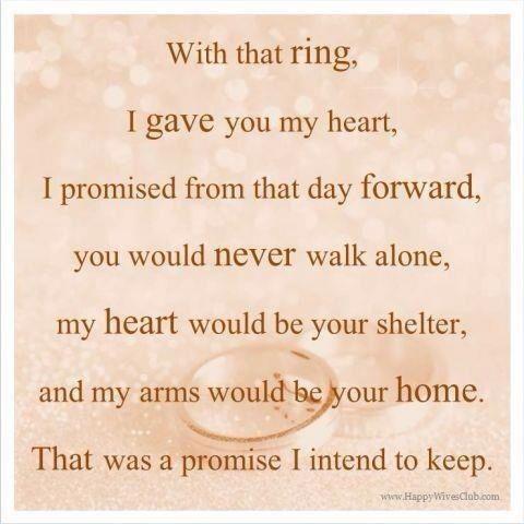 Marriage Promise Quotes Quotesgram