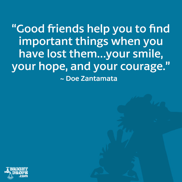 Good Friends Support Quotes. QuotesGram