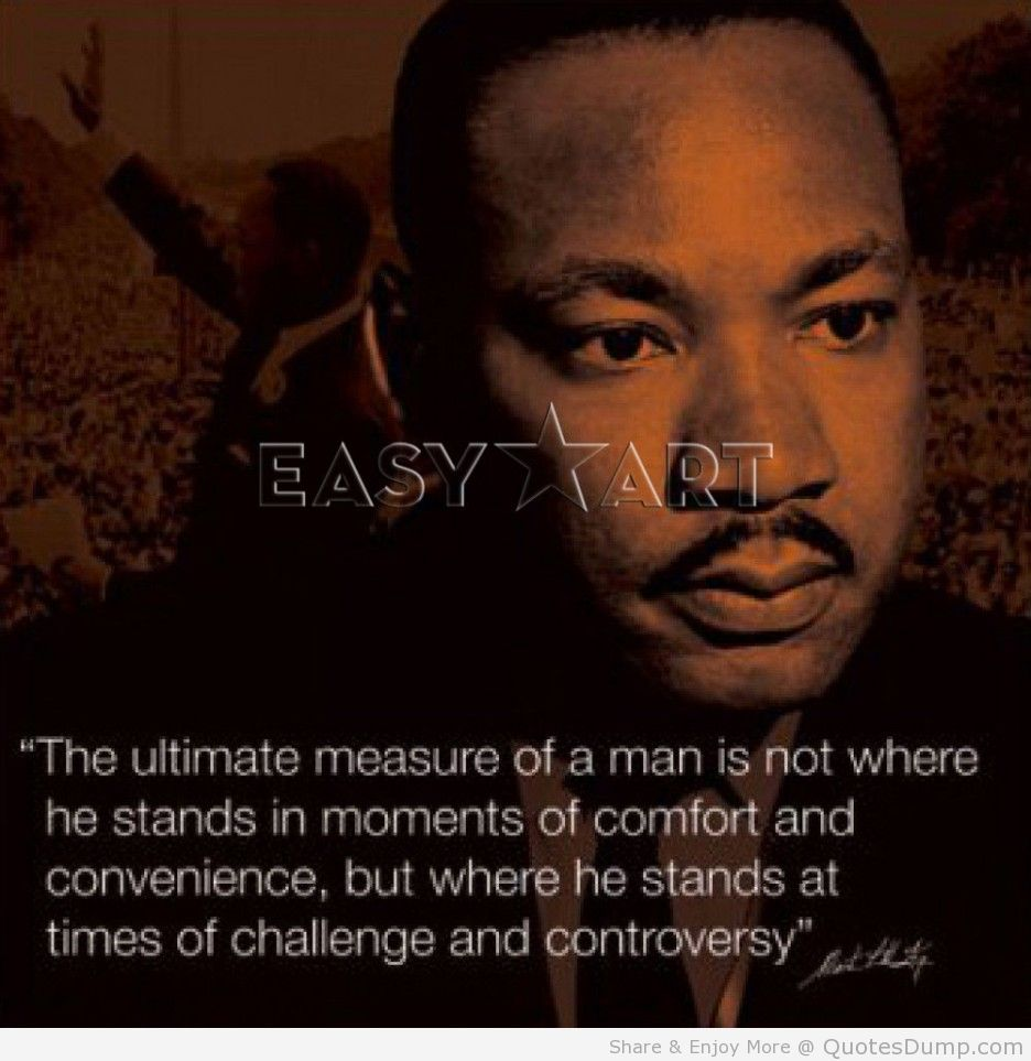 Famous Mlk Quotes: Famous Quotes From Martin Luther King Jr. QuotesGram