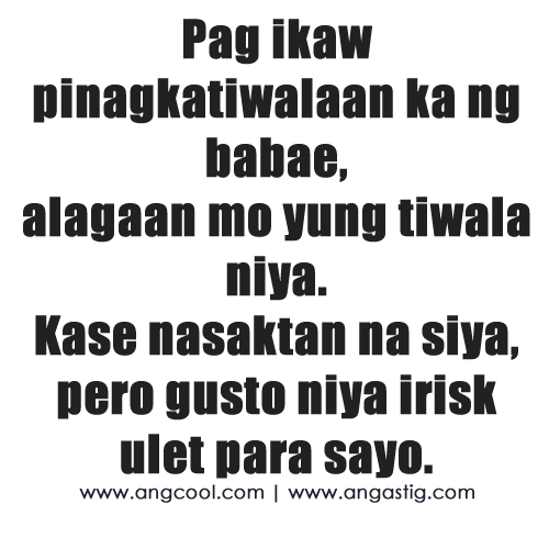 Hurt Quotes For Him Tagalog: Tagalog Quotes About Credit. QuotesGram