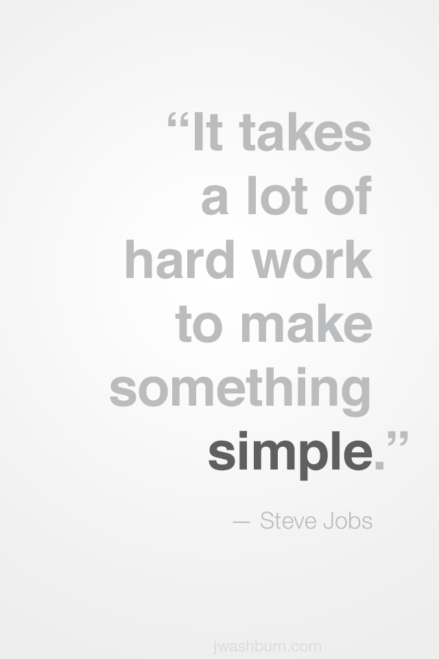 Steve Jobs Quotes On Hard Work: Simple Work Quotes. QuotesGram