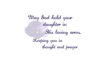 loss of a daughter quotes quotesgram