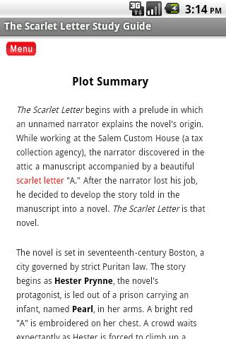 Chapter  Scarlet Letter Quotes With Explanations
