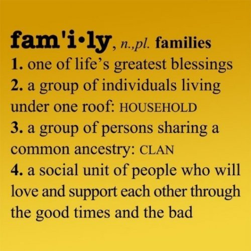 Definition Of Quote: Meaning Of Family Quotes. QuotesGram
