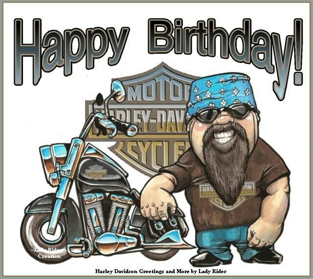 Поздравление с днем рождения байкера