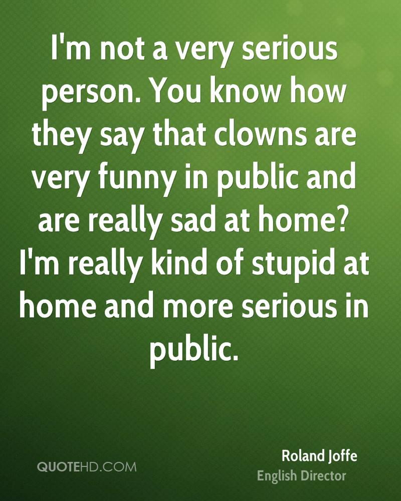 Serious Quotes: Im Serious Quotes. QuotesGram