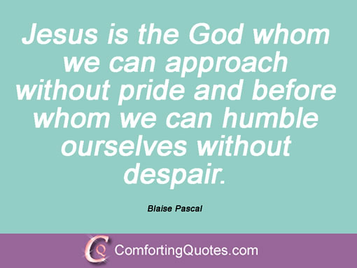 blaise pascal quotes god - photo #18