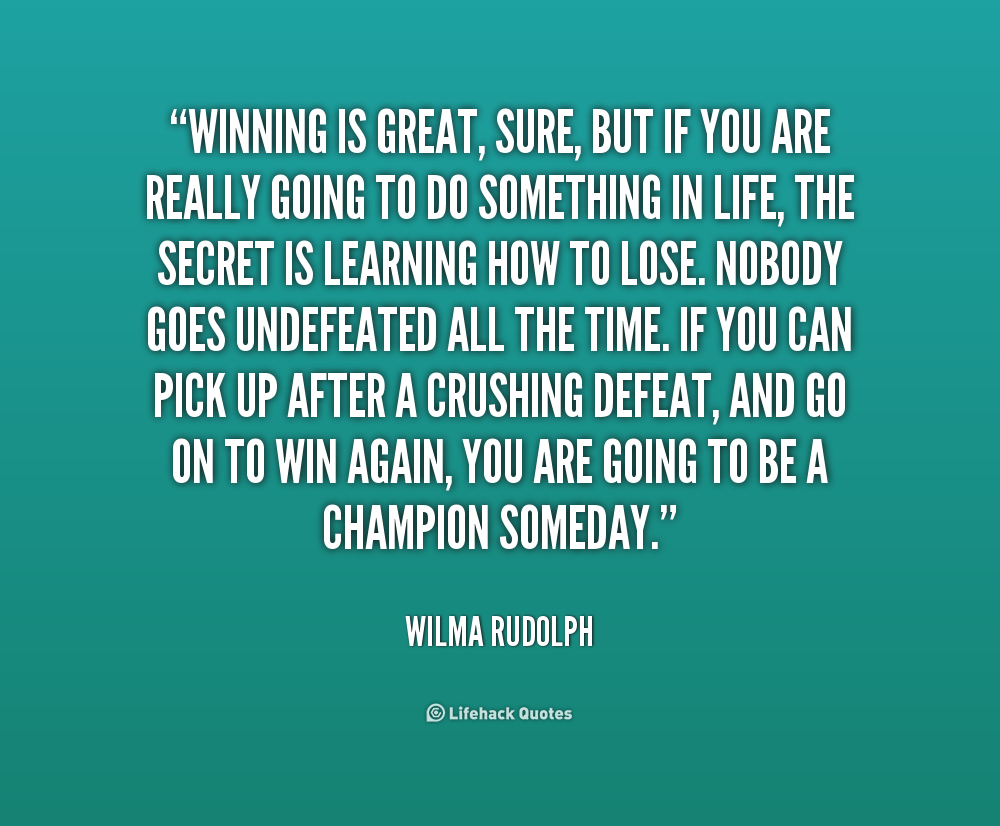 Famous Quotes About Winning. QuotesGram